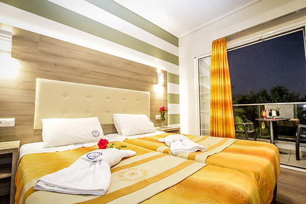 louros beach hotel spa suites room